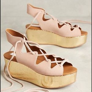 See by Chloe Liana Platform Sandals Size 38